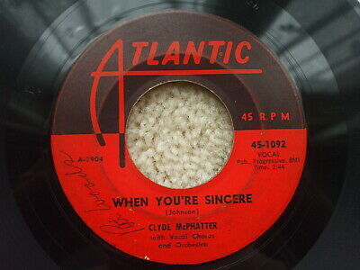 £5.99 • Buy Clyde Mcphatter ( Drifters) - Treasure Of Love / When You're Sincere USA Soul 45