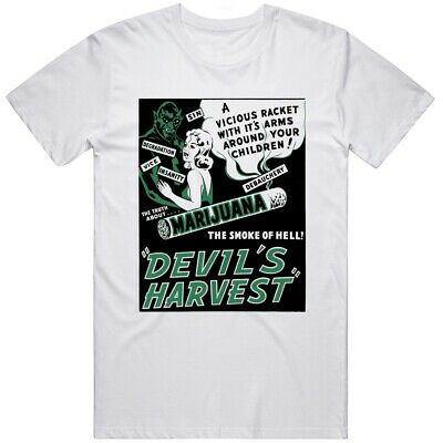 $ CDN26.69 • Buy Vintage Marijuana Devils Harvest Movie T Shirt