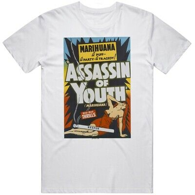 $ CDN26.69 • Buy Vintage Marihuana Assassins Of Youth T Shirt