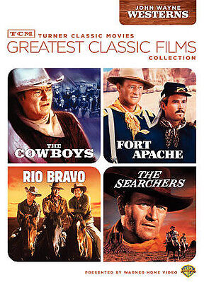 $10.78 • Buy TCM Greatest Classic Films Collection: John Wayne Westerns [The Cowboys / Fort A