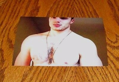 $ CDN4.40 • Buy Shirtless Male Muscular Beefcake Hunk Hairy Chest Muscle Dude PHOTO 4X6 C1711