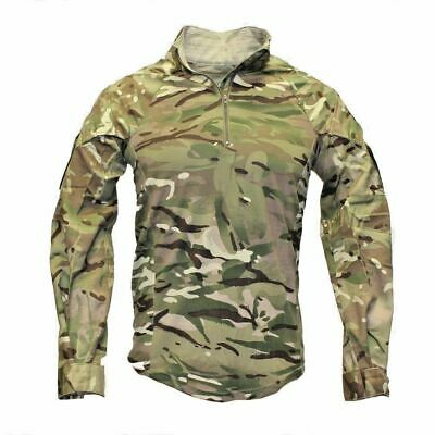BRITISH ARMY ISSUE FULL MTP UBACS GRADE 1 COMBAT SHIRT- Various Size UBAC • 15£