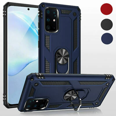 Hybrid Armor Case Shockproof Cover Ring Stand Holder For Samsung S20 FE S10 A21S • 4.95£