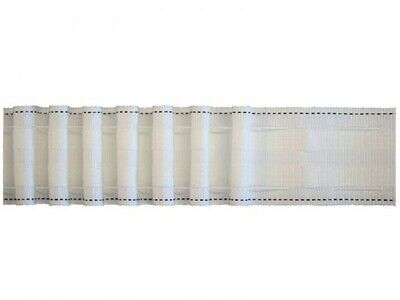 £1.10 • Buy 2  Inch / 51mm Rufflette Pencil Pleat White Curtain Header Tape By The Metre