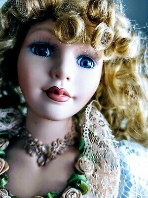 $ CDN81.99 • Buy Collectable Memories Porcelain Dolls YvetteVictorian Lady Vintage Victorian Dres