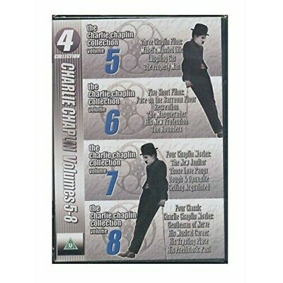 Charlie Chaplin Collection Volumes 5-8 (DVD) • 4.49£