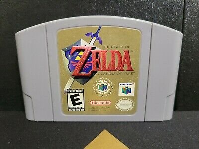 $54.99 • Buy The Legend Of Zelda: Ocarina Of Time N64 Authentic Cart Cleaned Pins Tested