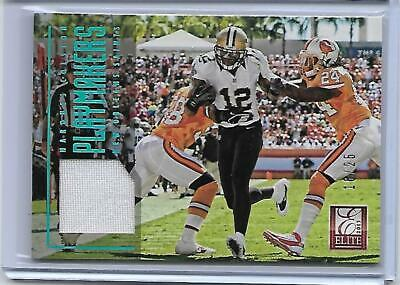 $1.99 • Buy Marques Colston 2013 Elite Football Playmakers Game Worn Jersey 16/25 Saints