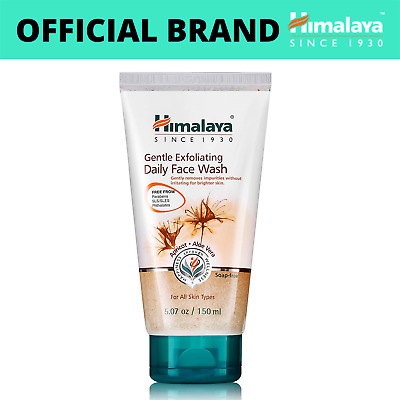 £7 • Buy Himalaya Gentle Exfoliating Daily Face Wash | With Apricot, Neem & More | 150 Ml