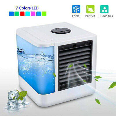 AU62.48 • Buy Portable Mini AC Air Conditioner Personal Unit Cooling Fan Humidifier Purifier