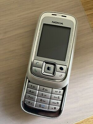 Nokia 6111 In Silver. No Charger • 2.99£