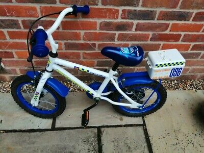 "Kids Police Bike 14"" Wheels • 30£"
