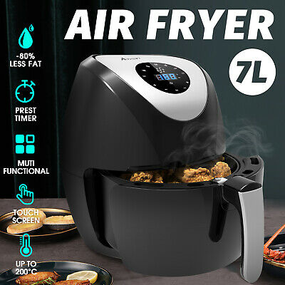 AU59.90 • Buy 7L Air Fryer Electric LCD Oil Free Kitchen Healthy Cooker 1700W Airfryer Oven