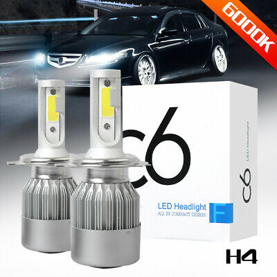 AUXITO H4 9003 LED Headlight Hi Lo Beam 20000LM 6000K Kit for Ford Escape Focus