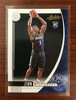 $9.50 • Buy Zion Williamson 2019-20 Absolute RC New Orleans Pelicans
