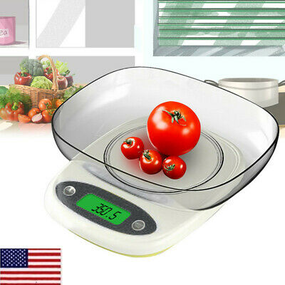Digital Kitchen Scales 3/7kg LCD Electronic Household Food Cooking Weighing • 8.99£