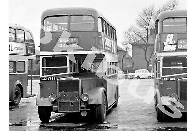 Bus PhotographPOTTERIES MOTOR TRACTION LEH 761 [L353] • 1.10£
