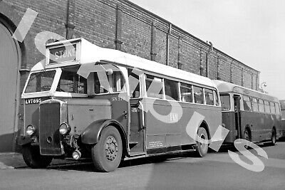 Bus PhotographPOTTERIES MOTOR TRACTION LVT 695 [SN 378] • 1.10£