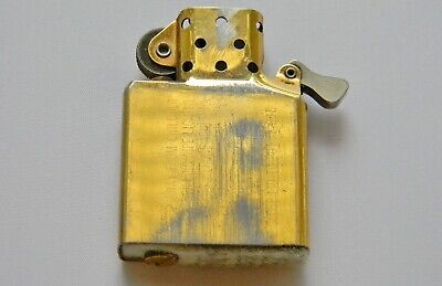 $10 • Buy 1 Used Vintage Zippo Brass Plated Insert Has A New Flint.