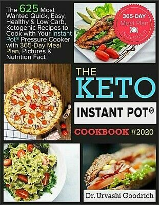 $2.49 • Buy Keto Instant Pot® Cookbook #2020 – The 625 Most Wante C0OK BO0K - VERY FAST SHIP