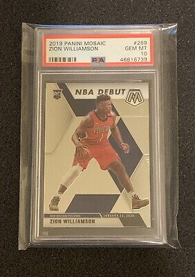 $20 • Buy 2019-20 Mosaic NBA Debut Zion Williamson PSA 10 HOT PACK *Please Read* SEE PICS