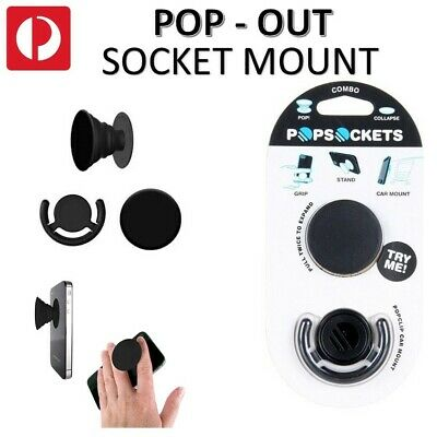 AU7 • Buy **AUS STOCK** CHEAP Pop Out Socket Phone Grip Holder Expanding Universal IPhone