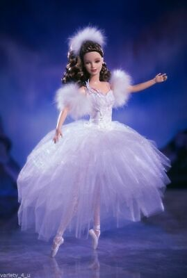 2001 Swan Ballerina From Swan Lake BARBIE Classic Ballet Series #53867 NEW NRFB • 40£
