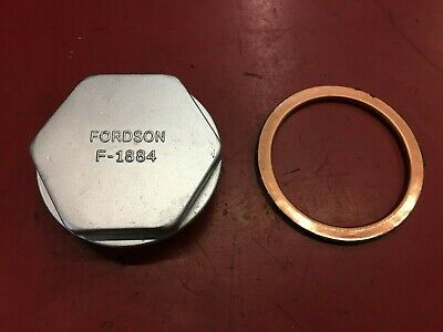 Fordson F, Standard N And E27N Major Filler Hex Bung And Sealing Washer • 30£