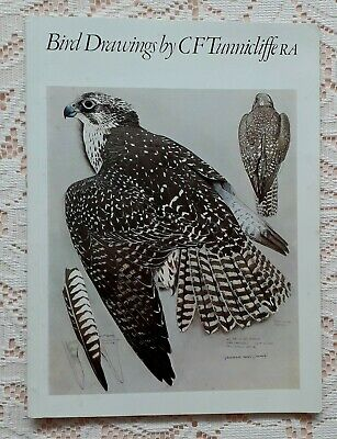 Bird Drawings By C F Tunnicliffe 1974 Exhibition Catalogue • 20£