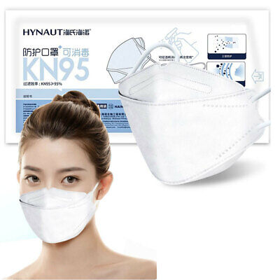 AU29 • Buy 10 X Hainuo KN95 Face Mask Willow Leave Shape 4 Layers Protection