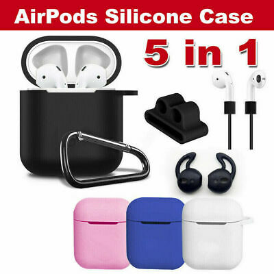 AU13 • Buy Strap Holder & Silicone Case Cover Skin For Apple Airpod Accessories Airpods AU