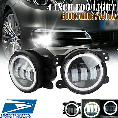 $56.77 • Buy For Chrysler 300 2005~2010 30W 4 Inch LED Driving Fog Light Bumper Lamps 6000K