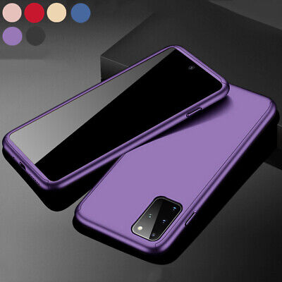 $ CDN4.72 • Buy 360° Plastic Case Cover For Samsung S20 S10 A51 A71 Note 10 Free Tempered Glass