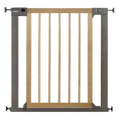 Lindam SURE SHUT DECO NATURAL WOOD & METAL Baby/Toddler Nursery Safety Gate BN • 54.94£