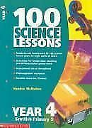 100 Science Lessons For Year 4 (100 Science Lessons), McMahon, Kendra, Used; Acc • 4.27£