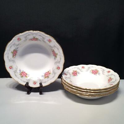 £106.16 • Buy Set Of 6 Royal Albert Tranquility Rimmed Soup Bowls Ch4798