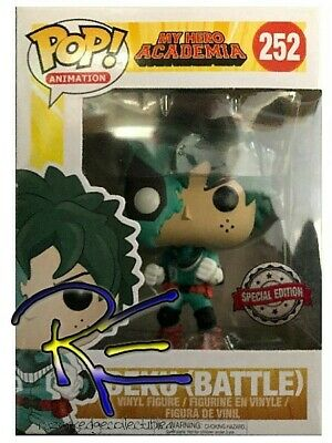 $14.99 • Buy Funko POP #252 My Hero Academia Deku Battle Damaged Exclusive Figure New