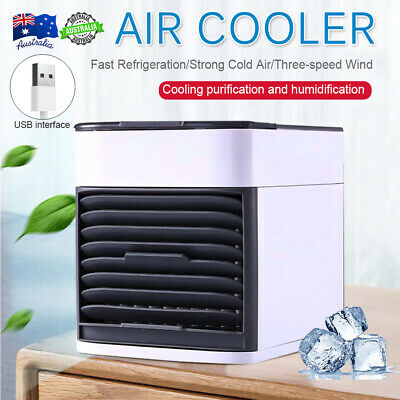 AU21.99 • Buy NEW Portable Mini Air Conditioner Cool Cooling For Bedroom Cooler Fan AU