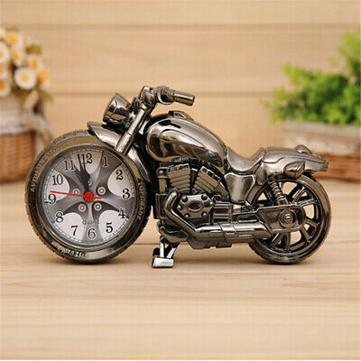 Motorcycle Style Alarm Clock Home Living Room Decoration Cool Fashion Gift • 6.09£