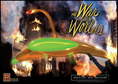 War Of The Worlds Martian War Machine 1/48 Plastic Model Kit 18WPH03 • 29.15£