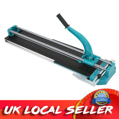80cm Manual Tile Cutter Machine W/ Ball Bearing Porcelain Ceramic Cutting Tool • 59.99£