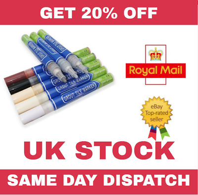 Grout Pen - Revive & Restore - Anti Mould Tile  • 2.89£
