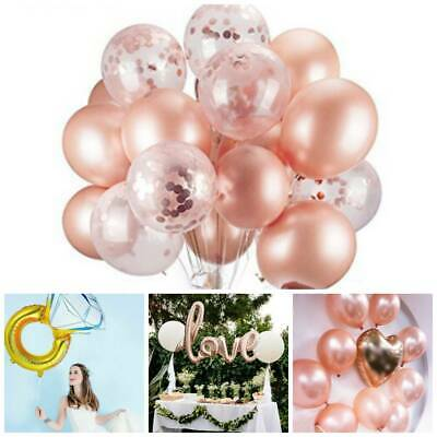 AU4.56 • Buy Rose Gold Diamond Bride To Be Letters Foil Balloons Banner Wedding Party Decor