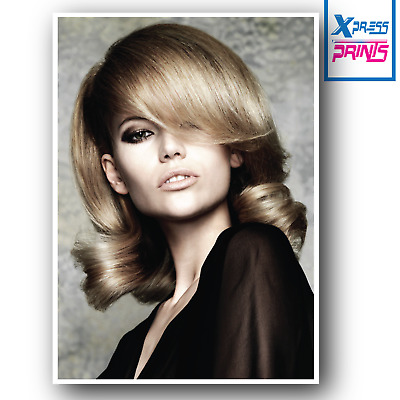 HAIR HAIRDRESSING HAIRSTYLE HEALTH BEAUTY POSTER PRINT A3 260GSM