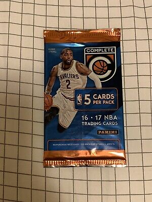 $ CDN6.99 • Buy Panini 16-17 Complete NBA Trading Card Pack Of 5 Cards Simmons Rc? Brown Rc?