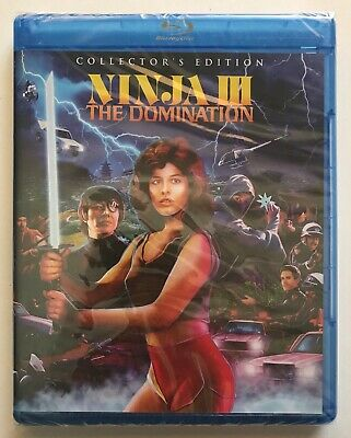 $ CDN36.99 • Buy Ninja III: The Domination Blu-ray Scream Factory Collectors Edition 4K 3 NEW OOP