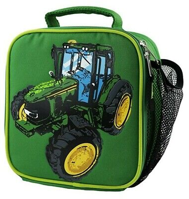 AU34.38 • Buy NEW John Deere Green Tractor Insulated Lunch Box Bag LP74369