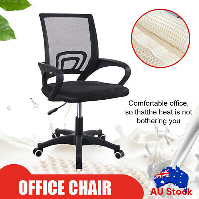 AU59.73 • Buy Ergonomic Office Chair Gaming Computer Mesh Desk Chairs Executive Mid Black