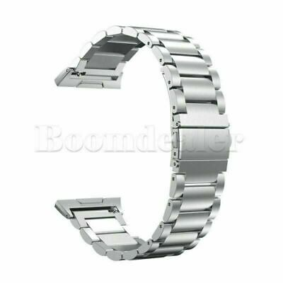 $ CDN19.75 • Buy Stainless Steel Link Bracelet Smart Watch Band Strap For Fitbit Ionic Tracker ZH