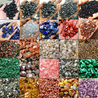 £4.27 • Buy 100g Super Natural Colorful Quartz Crystal Stone Rock Chips Small Healing Gravel